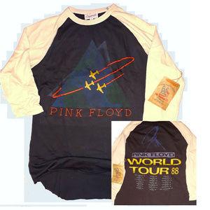 Junk Food Originals Pink Floyd Raglan T-Shirt L XL